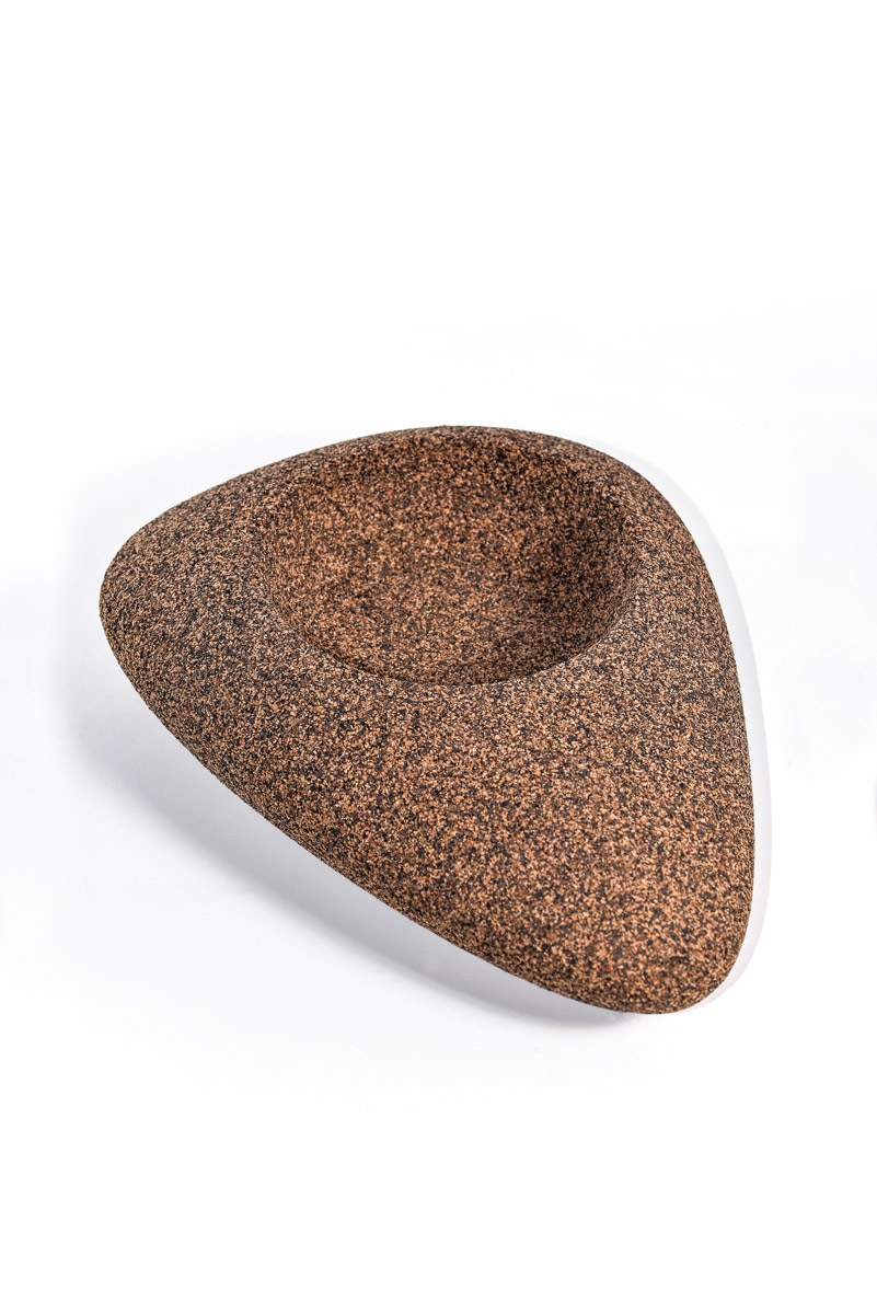 cork bowl s jans concept ceramic cork textil bags accessories. Black Bedroom Furniture Sets. Home Design Ideas