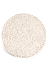 Medium plate glazed